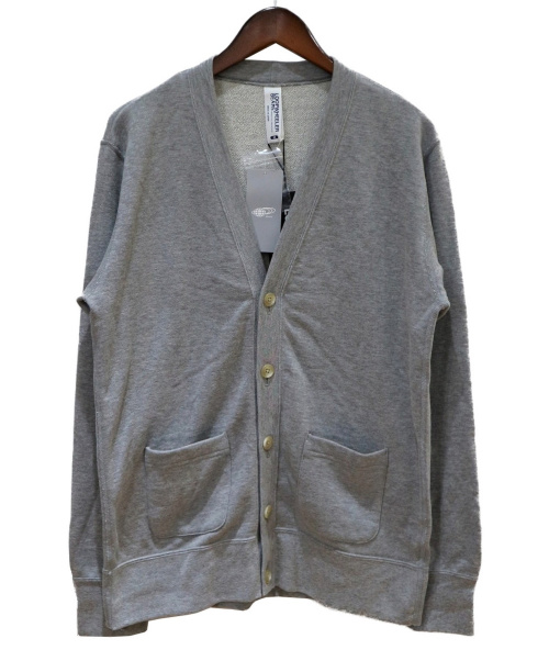 LOOPWHEELER × BEAMS PLUS(ループウィーラー×ビームスプラス)LOOPWHEELER × BEAMS PLUS (ループウィーラー×ビームスプラス) Exlt Cardigan グレー サイズ:M 未使用品の古着・服飾アイテム