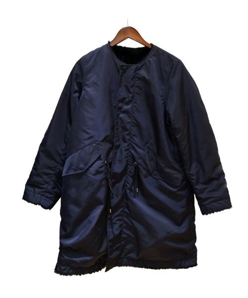 MACPHEE(マカフィー)MACPHEE (マカフィー) ナイロンツイル モッズコート ネイビー サイズ:36(S)の古着・服飾アイテム