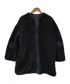 BEAMS BOY(ビームスボーイ)の古着「ミリタリー ボア ライナージャケット」|ブラック