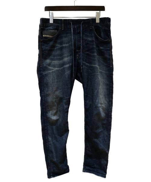 DIESEL(ディーゼル)DIESEL (ディーゼル) ストレッチデニムパンツ ブルー サイズ:W28(S)の古着・服飾アイテム