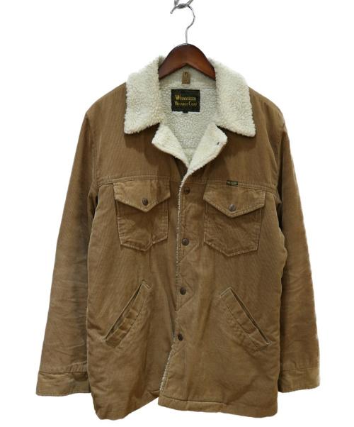 Wrangler(ラングラー)Wrangler (ラングラー) WRANGE COAT ベージュ サイズ:Mの古着・服飾アイテム