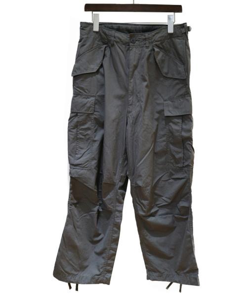 BEAMS(ビームス)BEAMS (ビームス) FINX(R)ビッグ 6ポケット カーゴパンツ グレー サイズ:Sの古着・服飾アイテム