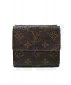 LOUIS VUITTON(ルイヴィトン)の古着「3つ折り財布」|ブラウン