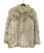 SAGA FOX(サガフォックス)の古着「ファーコート」|ベージュ