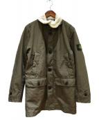 STONE ISLAND(ストーンアイランド)の古着「切替ジャケット」|グリーン