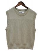MHL(エムエイチエル)の古着「ROUGH COTTON」|アイボリー