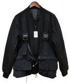 Danke schon(ダンケシェーン)の古着「ボンバージャケット」|ブラック