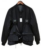 DANKE SCHON(ダンケ シェーン)の古着「ボンバージャケット」|ブラック