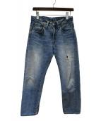 LEVIS VINTAGE CLOTHING(リーバイス ヴィンテージ クロージング)の古着「セルビッジコーンデニム」|ブルー