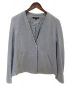 LAUTRE AMONT(ロートレアモン)の古着「Bijin Ponte V Color Jacket」|グレー