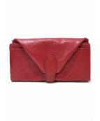 Dakota(ダコタ)の古着「フラップ長財布」|レッド