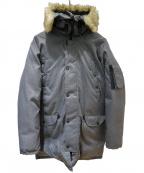 LEVI'S(リーバイス)の古着「ダウンコート」 グレー