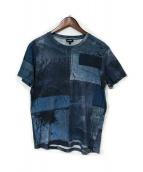 DIESEL(ディーゼル)の古着「転写プリントTシャツ」|ブルー