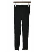 ISSEY MIYAKE(イッセイミヤケ)の古着「プリーツパンツ」|ブラック