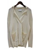 ()の古着「ニットジャケット」 アイボリー