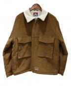 BEN DAVIS(ベン デイビス)の古着「ウォームホリック コード」|ブラウン