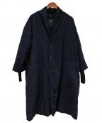 pas de calais(パドカレ)の古着「ディンブルリファインコート」|ブラック
