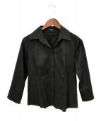 BURBERRY LONDON(バーバリーロンドン)の古着「長袖シャツ」|ブラック