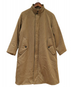 Gymphlex(ジムフレックス)の古着「中綿スウィングコート」|ブラウン