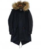 AMERICAN RAG CIE(アメリカンラグシー)の古着「モッズコート」|ネイビー