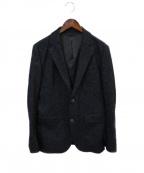 EPOCA UOMO(エポカウォモ)の古着「フランネルジャージージャケット」|ネイビー