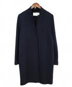 HARRIS WHARF LONDON(ハリスワーフロンドン)の古着「ウールコート」|ネイビー