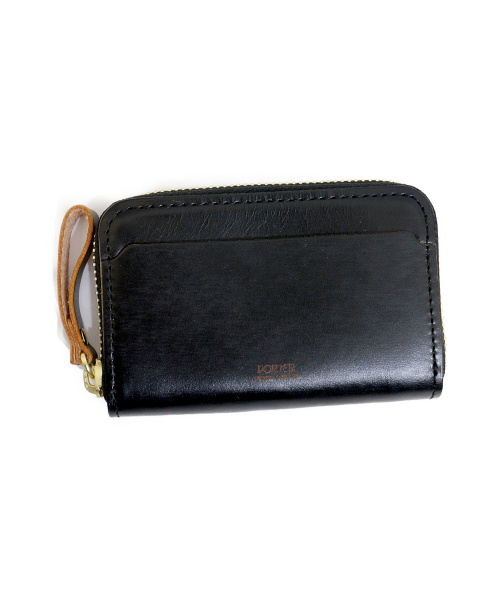 PORTER(ポーター)PORTER (ポーター) COIN & CARD CASE ブラック PORTER FILM 187-01353の古着・服飾アイテム