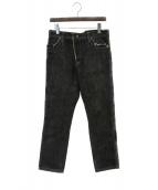 Ys(ワイズ)の古着「デニムパンツ」|ブラック