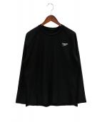 SPEEDO(スピード)の古着「ロングスリーブカットソー」|ブラック