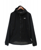 MILLET(ミレー)の古着「ビスナセストレッチジャケット」|ブラック