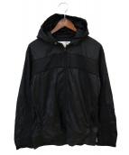 COMME des GARCONS SHIRT(コムデギャルソンシャツ)の古着「ウインドブレーカー」|ブラック