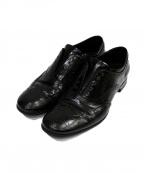 PRADA SPORTS(プラダスポーツ)の古着「ウィングチップシューズ」|ブラック