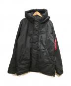 ALPHA(アルファ)の古着「アバランチライトジャケット」|ブラック