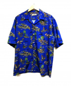 JOURNAL STANDARD relume(ジャーナルスタンダード レリューム)の古着「ルーズフィットアロハシャツ」 ブルー