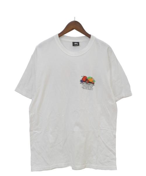 stussy(ステューシー)stussy (ステューシー) FRESH FRUIT TEE ホワイト サイズ:Lの古着・服飾アイテム