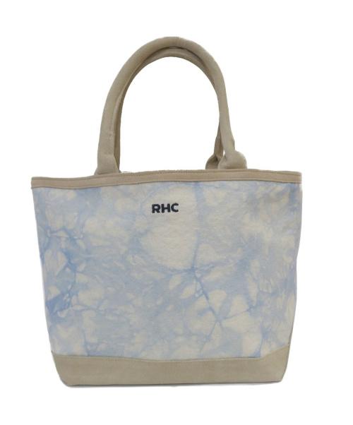 RHC(アールエイチシー)RHC (アールエイチシー) タイダイ染トートバッグ スカイブルーの古着・服飾アイテム