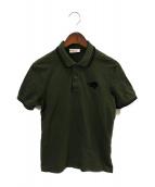 prada(プラダ)の古着「ポロシャツ」|グリーン
