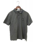 STONE ISLAND(ストーンアイランド)の古着「ポロシャツ」|グレー