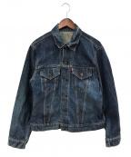 LEVI'S(リーバイス)の古着「デニムジャケット」 ブルー
