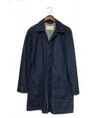 ()の古着「デニムシングルコート」|インディゴ