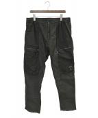 C.P COMPANY(シーピーカンパニー)の古着「ジップカーゴパンツ」 ブラック