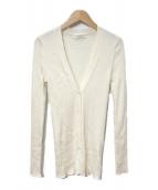 ()の古着「リブVネックカーディガン」|ホワイト
