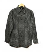 RRL(ダブルアールエル)の古着「ネルシャツ」|グレー