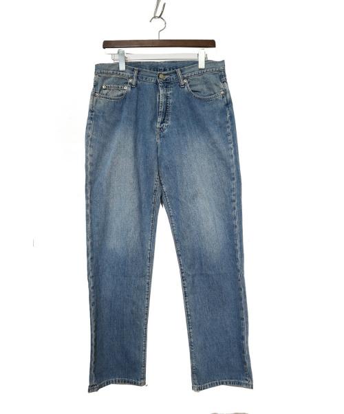 RRL(ダブルアールエル)RRL (ダブルアールエル) ストレートデニムパンツ スカイブルー サイズ:33/30の古着・服飾アイテム