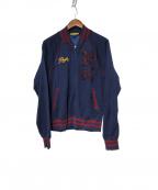 Rugby Ralph Lauren(ラグビーラルフローレン)の古着「ジップアップブルゾン」 ネイビー