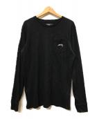 ()の古着「ロングスリーブカットソー」 ブラック