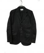 SONTAKU(ソンタク)の古着「コットンテーラードジャケット」 ブラック