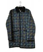 Traditional Weatherwear(トラディショナルウェザーウェア)の古着「オーバーサイズキルティングコート」|ネイビー