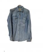 POLO RALPH LAUREN()の古着「デニムシャツ」|ブルー