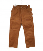 SASSAFRAS(ササフラス)の古着「FALL LEAF GARDENER PANTS」|ブラウン